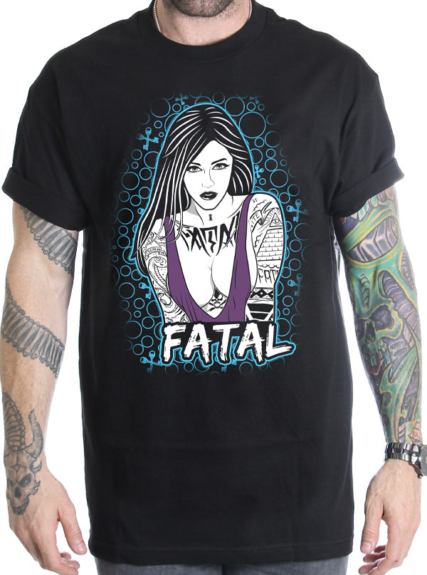 Men's Bubbles Tee by Fatal Clothing