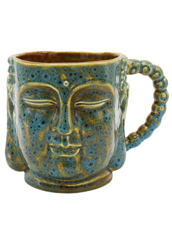 Buddha Antique Mug