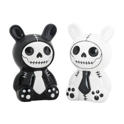 Furrybones® Bun-Bun Salt & Pepper Shakers by Summit Collection - InkedShop - 1