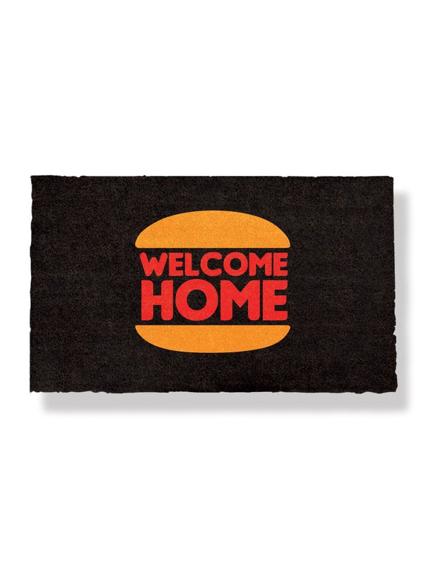 Welcome Home Burger Doormat by Bison