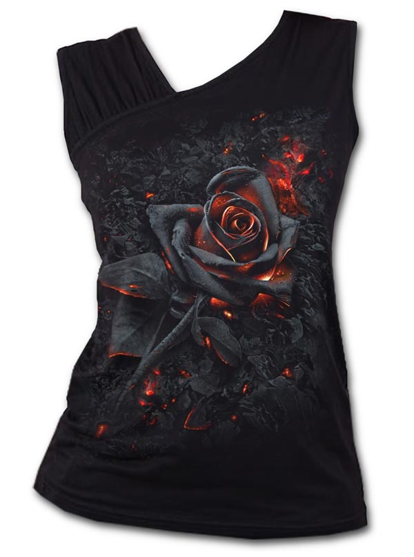 Women's Burnt Rose Tank by Spiral USA