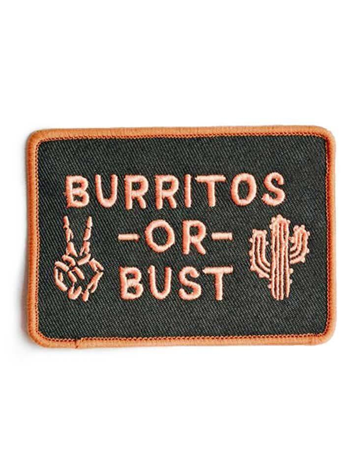 Burritos or Bust Patch by Pyknic