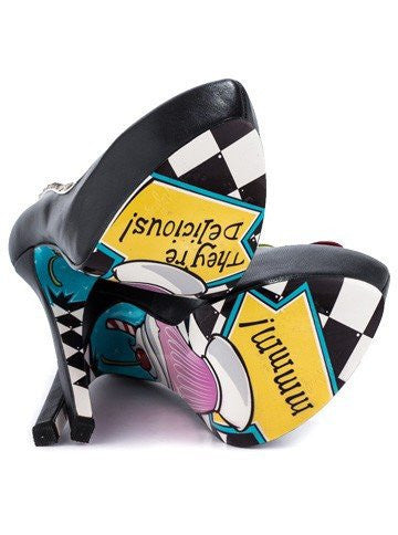 """Calese"" Heels by Taylorsays (Black) - InkedShop - 3"