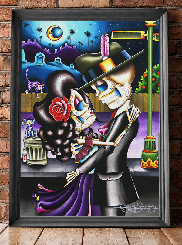 El Callsico Print by Dave Sanchez for Black Market Art