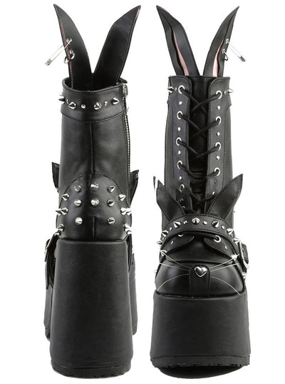 Shop black Camel Women's Demonia Boots Inked By 202 Chunky Rv8Rqn7zw