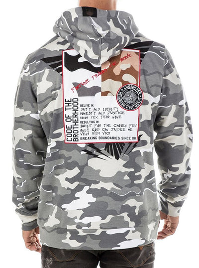 "Men's ""Dispatched"" Hoodie by Headrush Brand (Camo)"