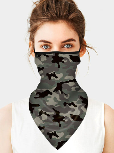 Camouflage Disguise Face Tube Mask