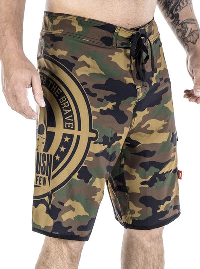 Men's The Other Side Board Shorts by Headrush Brand