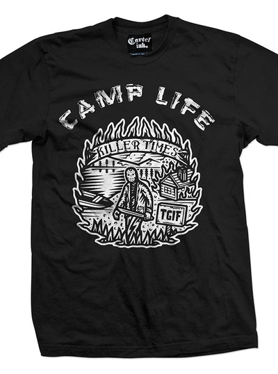 Men's Camp Life Tee by Cartel Ink