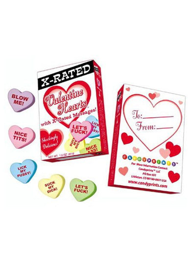 X-Rated/Risque Valentine Hearts