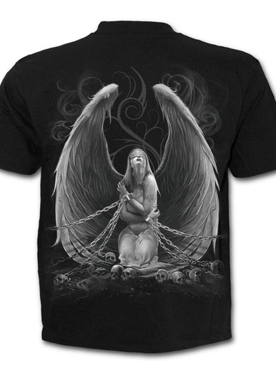 "Men's ""Captive Spirit"" Tee by Spiral USA (Black)"