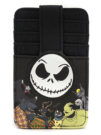 """Nightmare Before Christmas"" Cardholder by Loungefly (Black)"