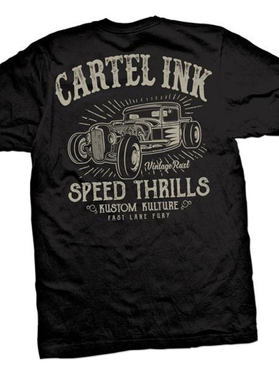 Men's Speed Thrills Tee by Cartel Ink