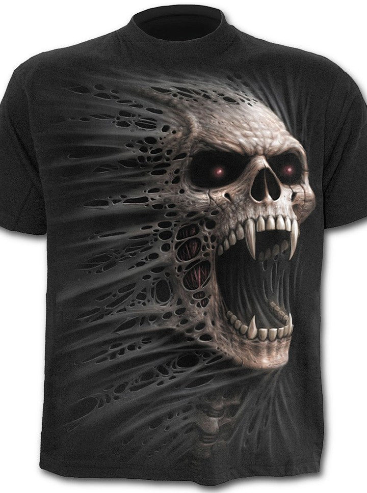 "Men's ""Cast Out"" Tee by Spiral USA (Black) - www.inkedshop.com"