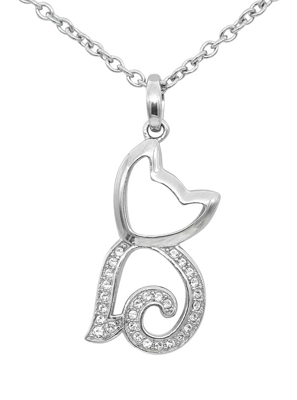 Purrfect Gleam Cat Necklace by Controse