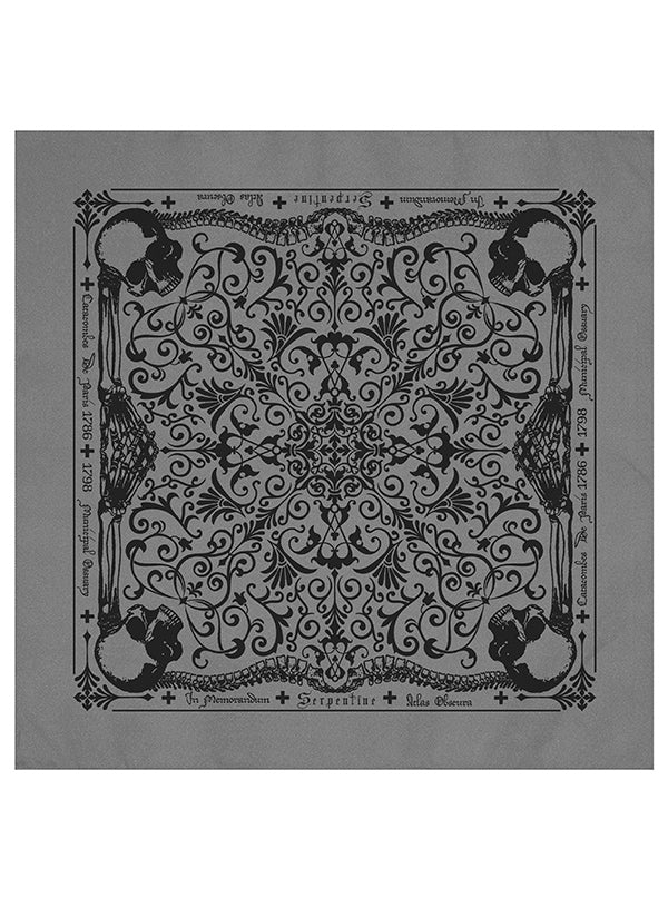 Catacombs Bandana by Serpentine Clothing