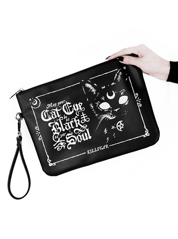 Cateye Makeup Bag by Killstar