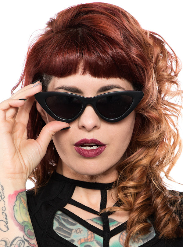 Cat Eye Sunglasses by Sourpuss