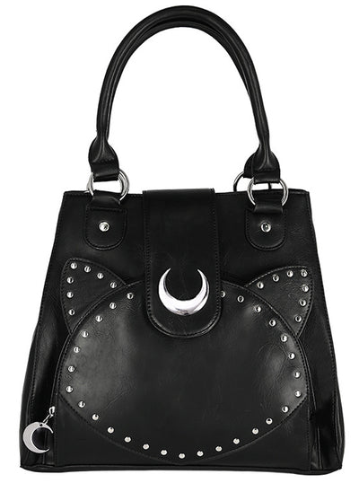 Moon Cat Handbag by Restyle