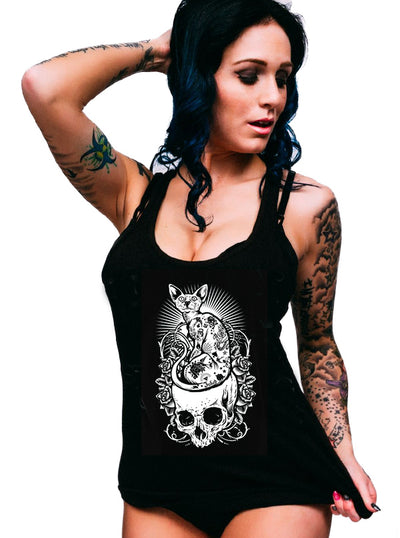 Women's Cat Tank by Inked
