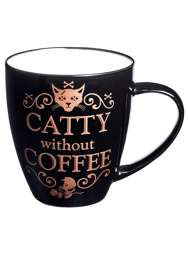 Catty Without Coffee Mug by Alchemy of England