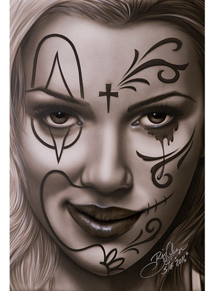 """Devious Deception"" Print by Big Ceeze for Black Market Art - www.inkedshop.com"