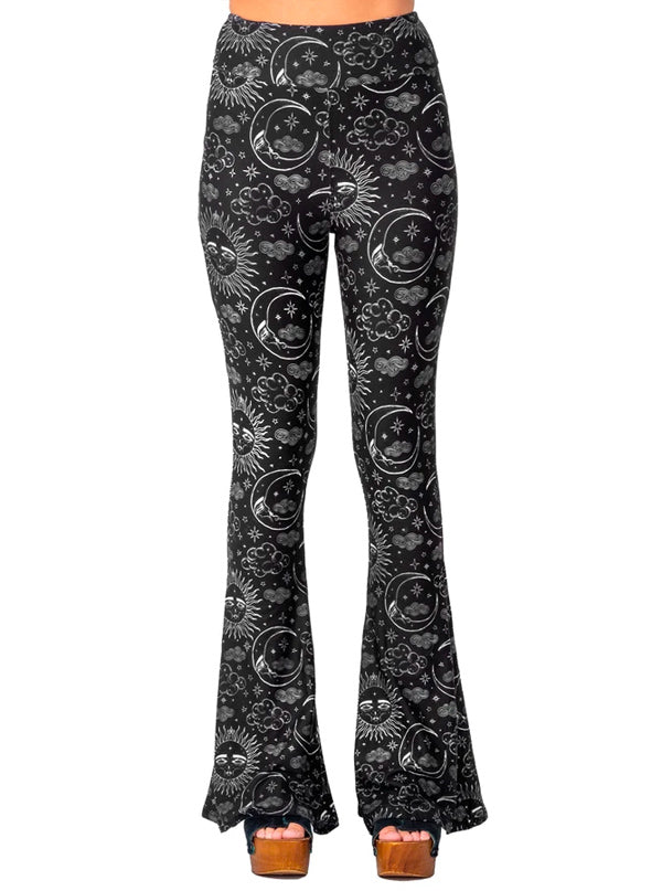 Women's Xtra Celestial Bell Bottom Flares by Too Fast