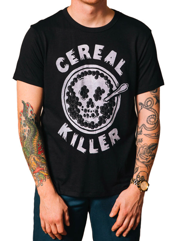 Men's Cereal Killer Tee by Pyknic