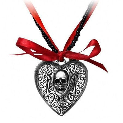 "The ""Reliquary Heart"" Locket by Alchemy of England - InkedShop - 1"