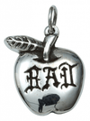 """Bad Apple"" Necklace by Femme Metale - www.inkedshop.com"