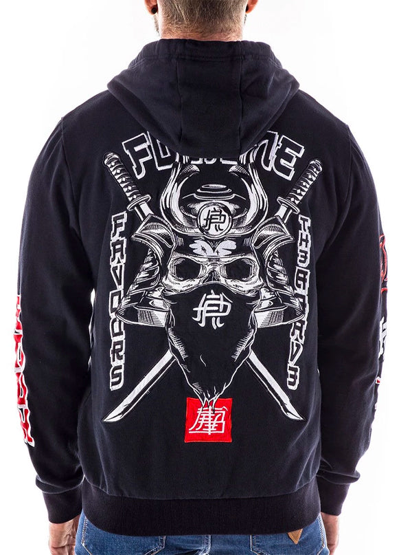 Men's 7th Chamber Zip Up Hoodie by Headrush Brand