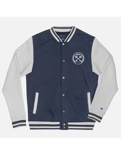Men's Embroidered Champion Varsity Jacket by Norvine