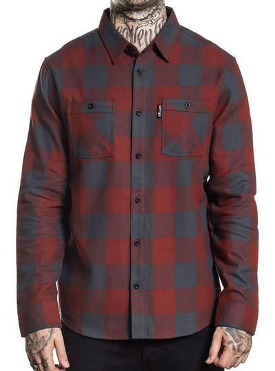 Men's Checks Flannel by Sullen
