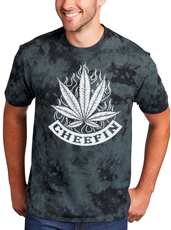 Unisex Cheefin Tie Dye Tee by Tat Daddy
