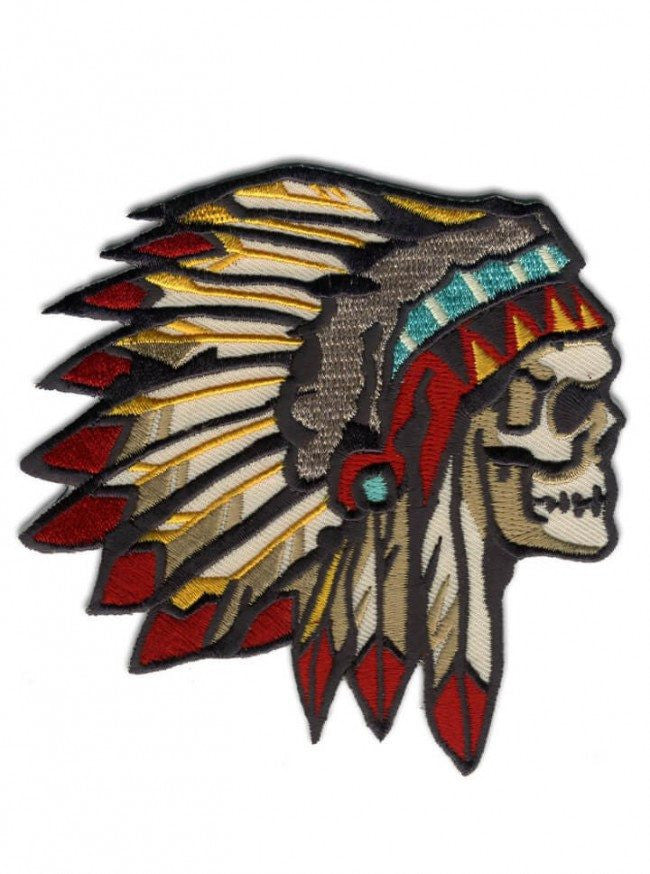 """Chief of the Dead"" Patch by Retro-a-go-go (Multi Color) - www.inkedshop.com"
