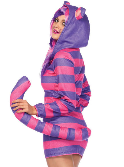 "Women's ""Cozy Cheshire Cat"" Costume by Leg Avenue (Pink)"