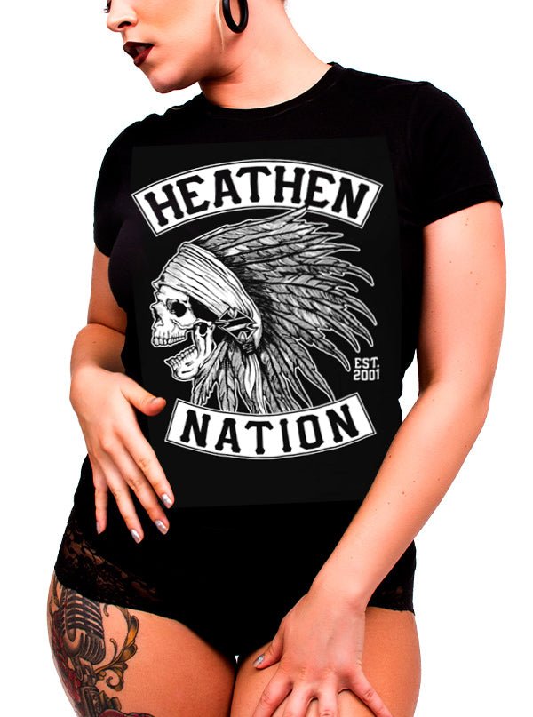 Women's Chief Tee by Heathen