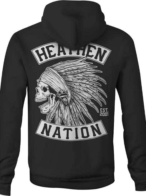 Men's Chief Hoodie by Heathen