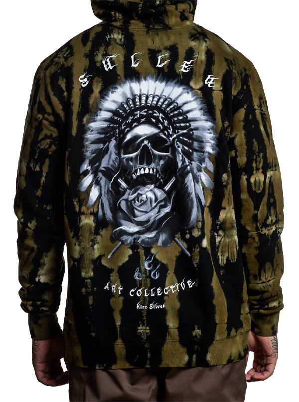 "Men's ""Silver Chief"" Hoodie by Sullen (Tie Dye)"