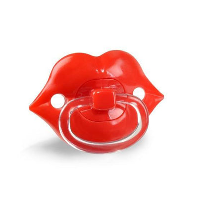 """Lipstick Baby"" Pacifier by Fred & Friends - InkedShop - 1"