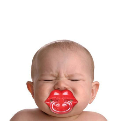 """Lipstick Baby"" Pacifier by Fred & Friends - InkedShop - 3"