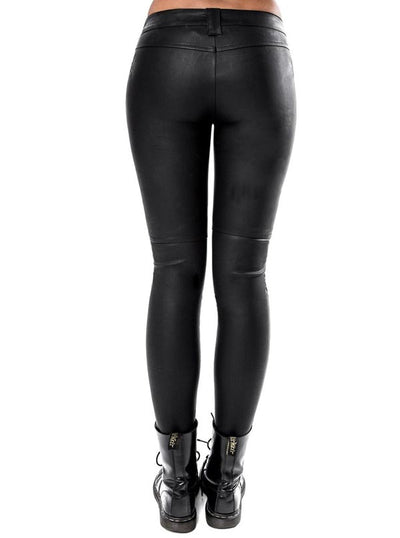 Women's Rexed Out Cigarette Pants by Killstar