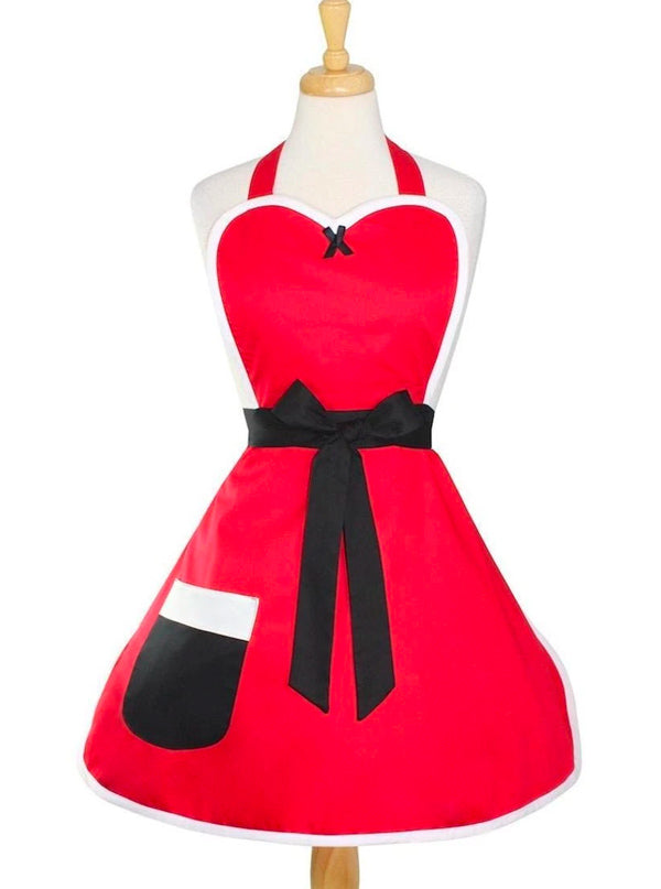 Mrs. Santa Claus Holiday Apron by Hemet