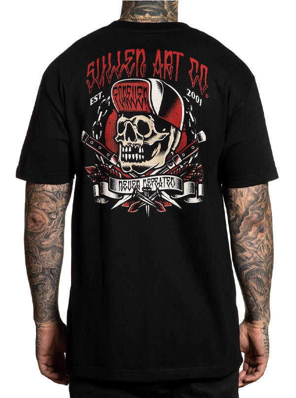 Men's Clean Cut Tee by Sullen