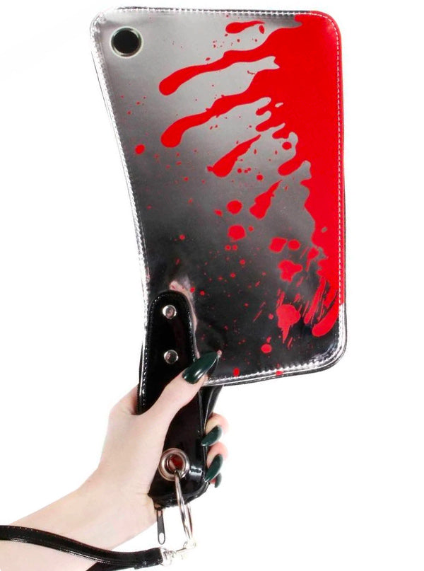 Cleaver Clutch Bag by Kreepsville 666