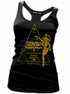 "Women's ""Cleopatra's Beauty Wraps"" Tank by Pinky Star (Black) - www.inkedshop.com"