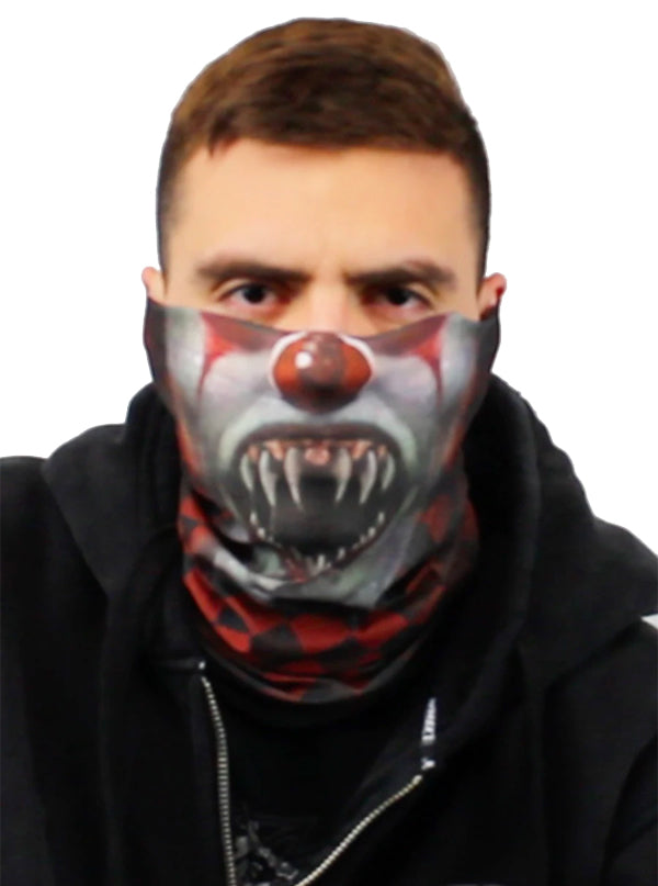 Clown Face Mask by Lethal Threat
