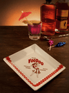 """Club Voodoo"" Coaster/Cocktail Napkin Tray by Trixie & Milo (1960's Vegas) - www.inkedshop.com"