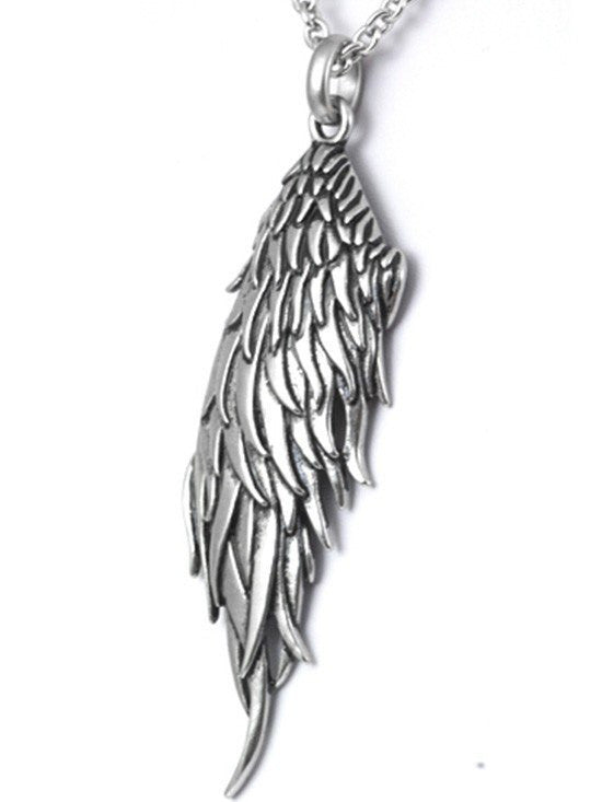 "Women's ""Dark Angel Wing"" Necklace by Controse (Multiple Options) - www.inkedshop.com"