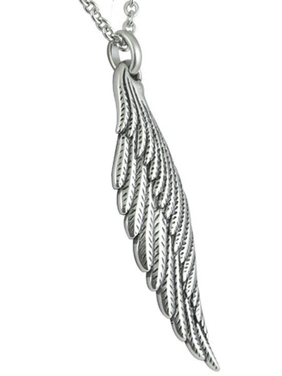 "Women's ""Light Angel Wing"" Necklace by Controse (Multiple Options) - www.inkedshop.com"